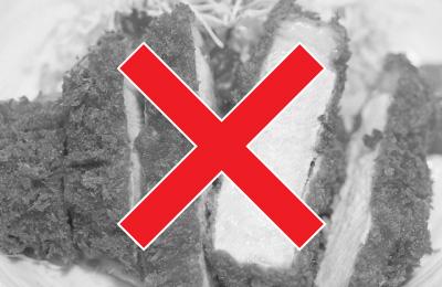 揚げ物など脂肪分の多いものはダメ