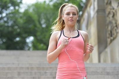 貧血が解消された女性ランナー