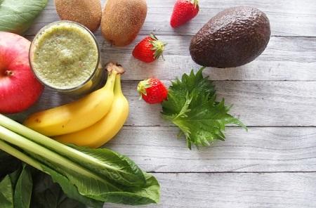 ビタミン・ミネラルの豊富な野菜と果物