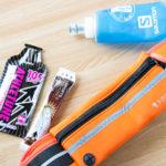 マラソン中の補給食の携帯方法|私の使っているポーチとボトル