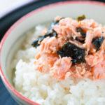 作り置きに便利♪焼き海苔入り鮭フレーク【タンパク質の多い料理】