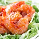 エビチリはグリルで焼いてプリプリに♪【高タンパク質低カロリーレシピ】
