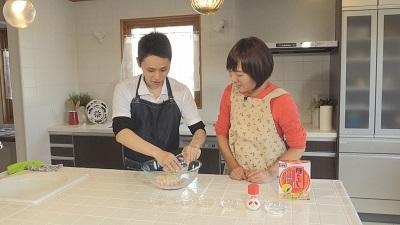 おじゃまっテレ(勝ち飯レシピ)-調理の様子