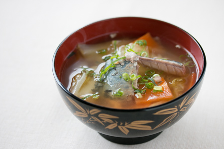 サバ缶の味噌汁
