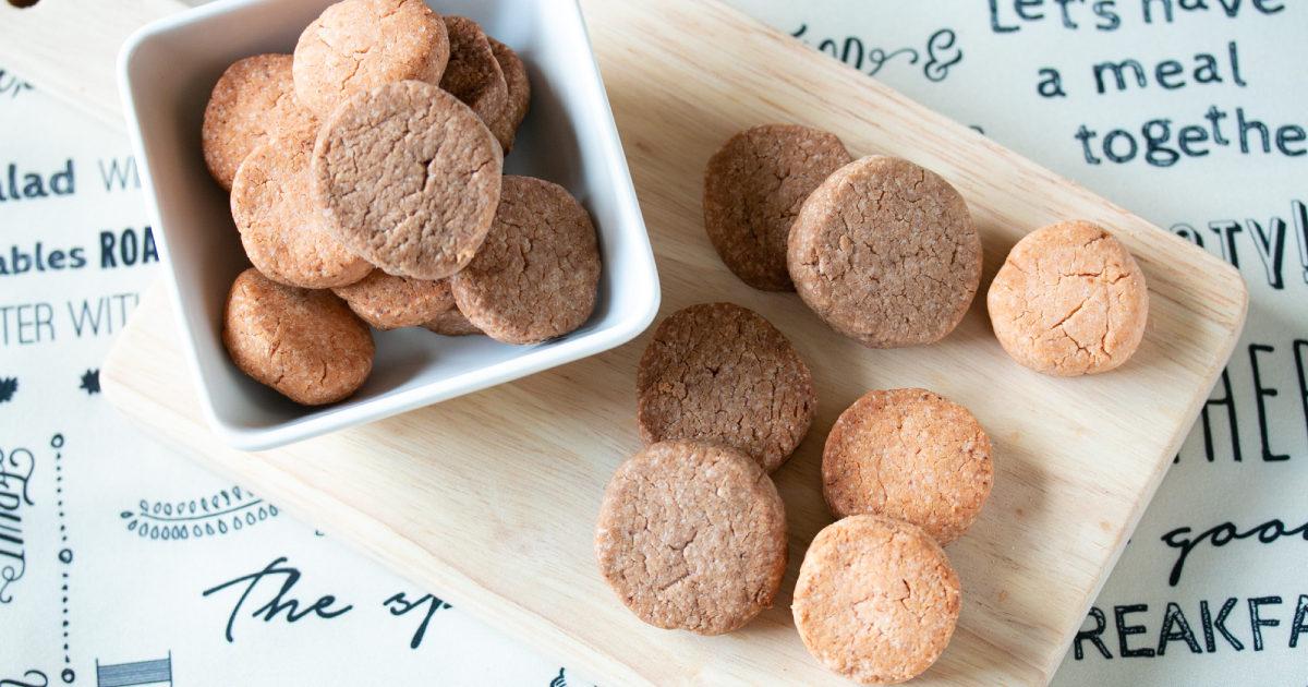 ジュニアプロテインの米粉クッキー