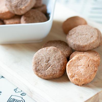プロテイン米粉クッキーの完成