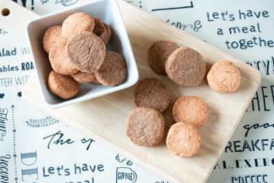 大豆プロテインと米粉のクッキー