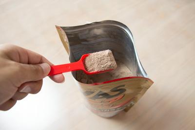 ザバス ジュニアプロテインの粉末